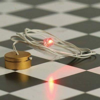 Battery-Powered bulb for fire grate/basket   LED