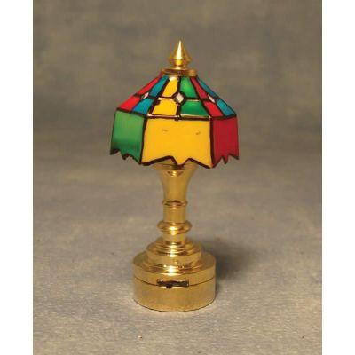 Battery-Powered 'Tiffany' Lamp