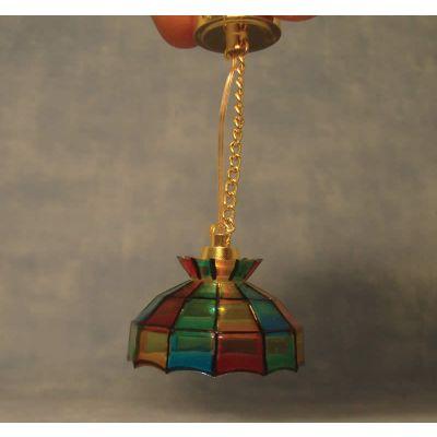 Battery-Powered 'Tiffany' Light