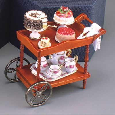 Serving Cart - Cakes