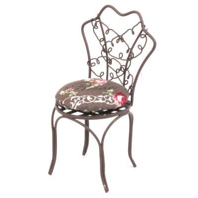 Brown Metal Garden Chair