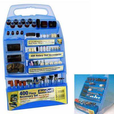 400 pc Rotary Tool Accessory kit
