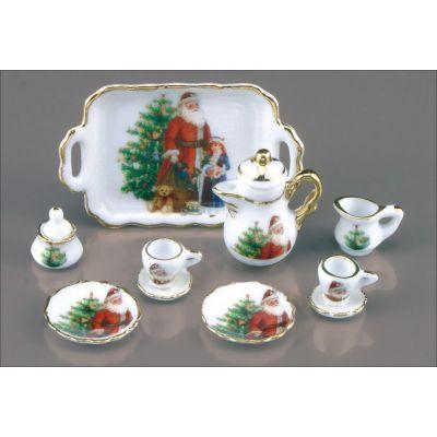 Tea Set 11pc (Christmas)