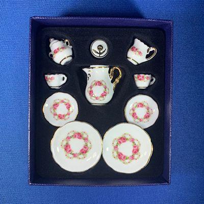 Tea Set 11pc (Roseband)