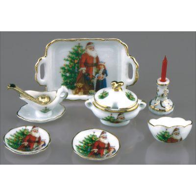 Dinner Set 11pc (Christmas)
