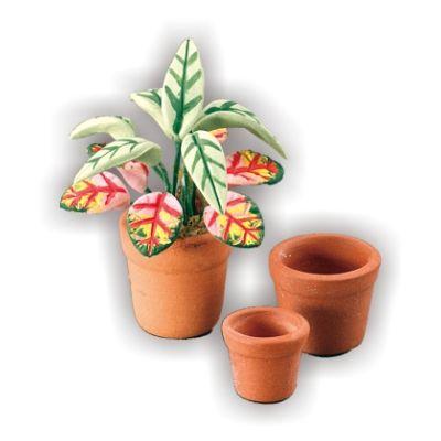 3 Flower Pots