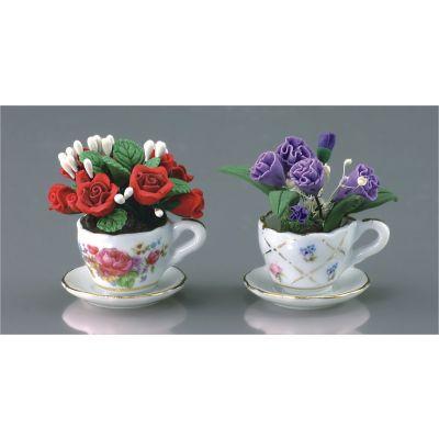 2 Flower Cups