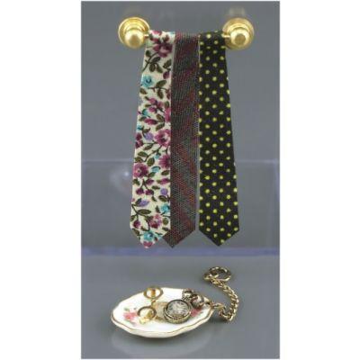 Tie Rack & Watch Set
