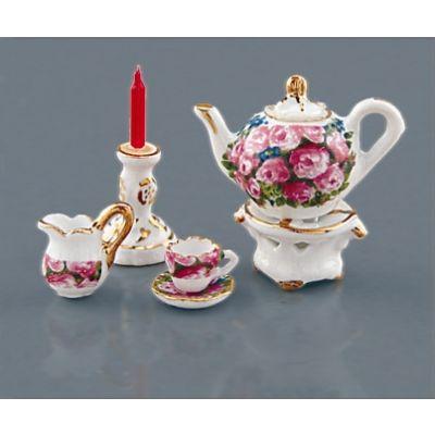 Tea Pot with Warmer