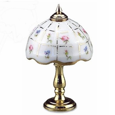 Lamp. Gold Checks (Non working)