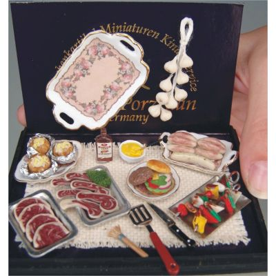 Barbeque Grill Set