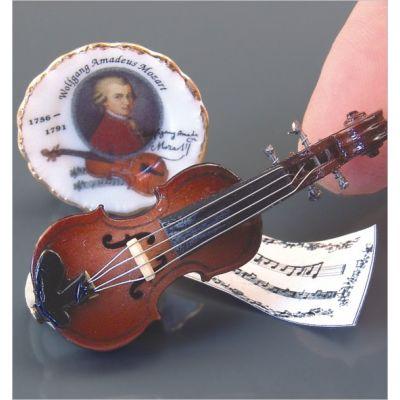 Violin & Plate