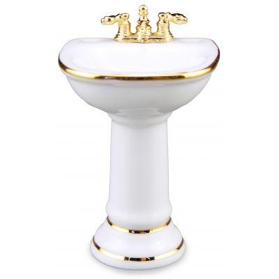 Sink. White