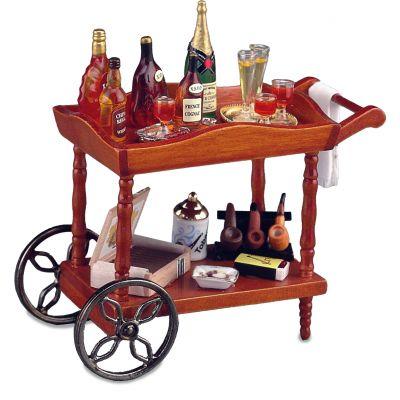 Serving Cart. Gentlemen