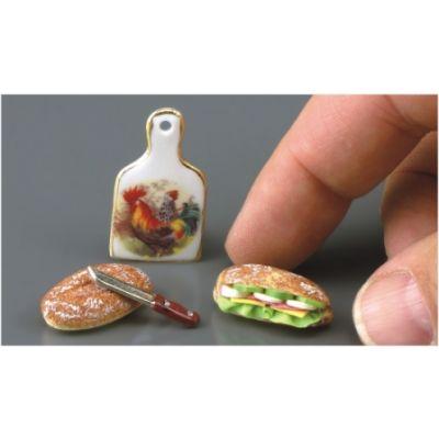 Sandwiches & Cutting Board