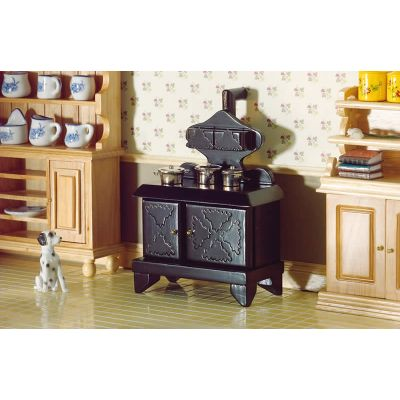 Victorian Stove with Hotplates