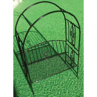 Black Arbour Garden Seat