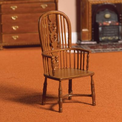 Fiddle Back Kitchen Chair (W)
