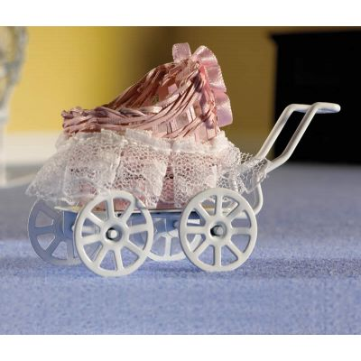 Small Pink Baby Carriage