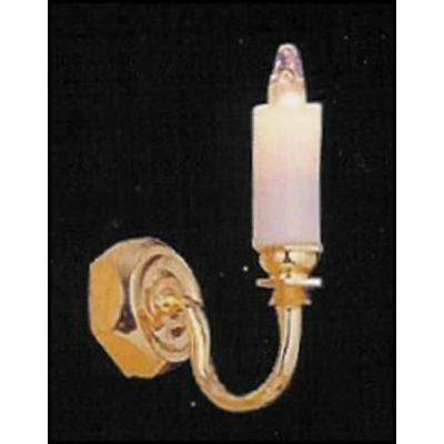 Single wall candle  light for 1/24th scale lighting