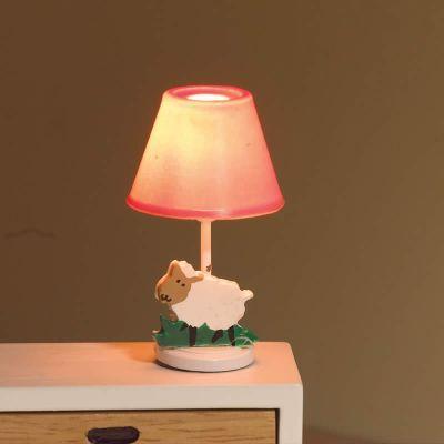 Pink Nursery Lamp