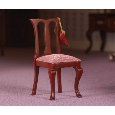 Transitional Chair with Pink Seat (M)