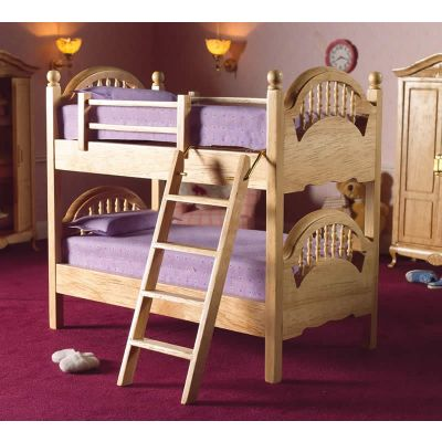 Pine Bunk Beds with Ladder