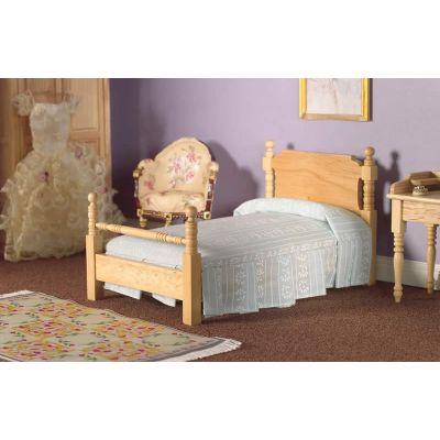 Victorian Pine Single Bed (L)