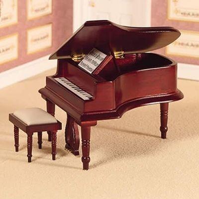 Classical Grand Piano & Stool (M)