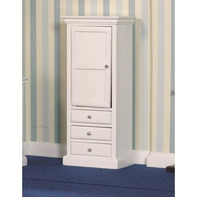 White Cupboard & Drawers