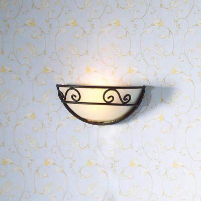 Decorative Half Circle Wall Light