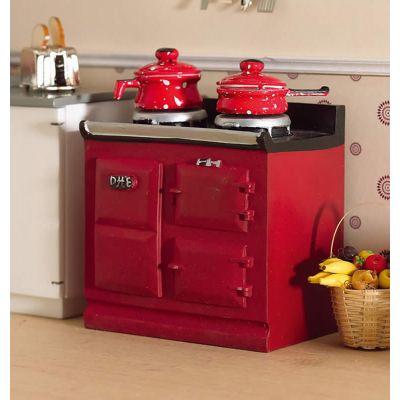 Red Aga-style Stove (PR)