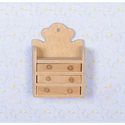 Unvarnished Wall Shelves (L)