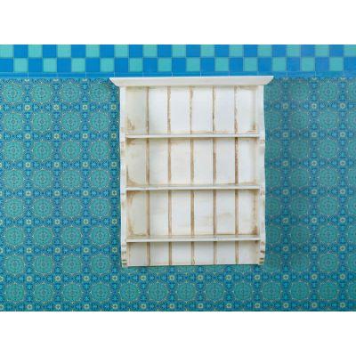 Aged Cream Wall Shelves