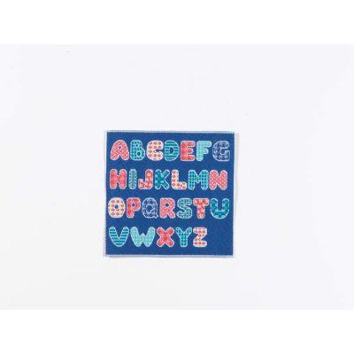 Blue Alphabet Blanket/Rug