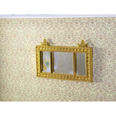 'Gold' Landscape Mantel Mirror