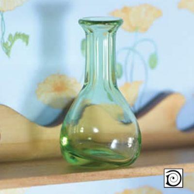 Green Glass Vase/Decanter