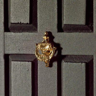Decorative 'Brass' Door Knocker