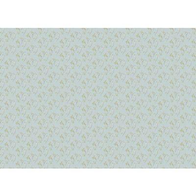 Delicate Leafy Stem Wallpaper