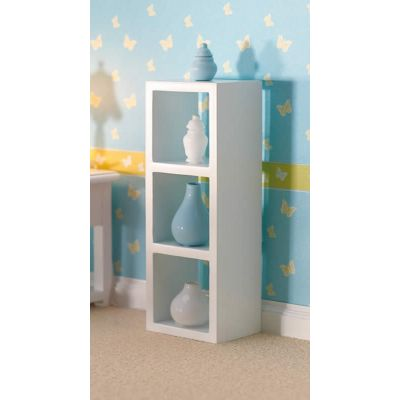 Versatile White Storage Unit