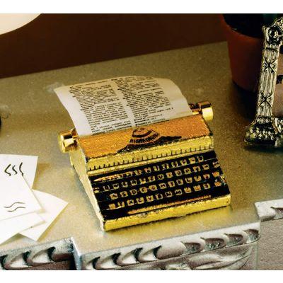 Metal Typewriter