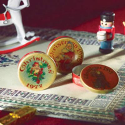 Christmas Tins, 3 pcs