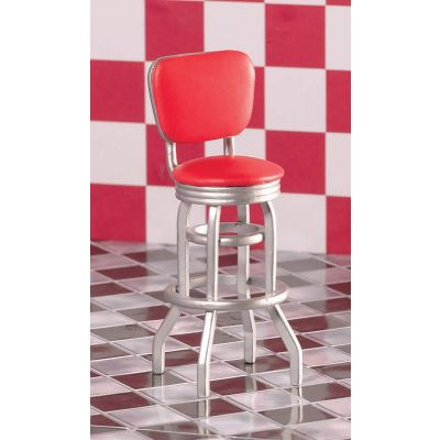 Red Bar/Diner Chair