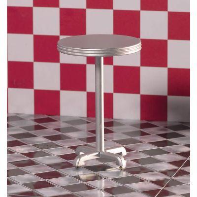 'Silver' High Circular Table