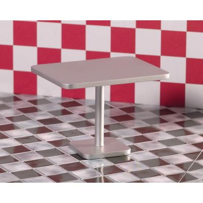 'Silver' Rectangular Table