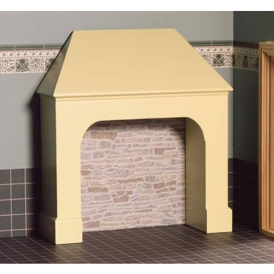 Stone Coloured Stove Surround