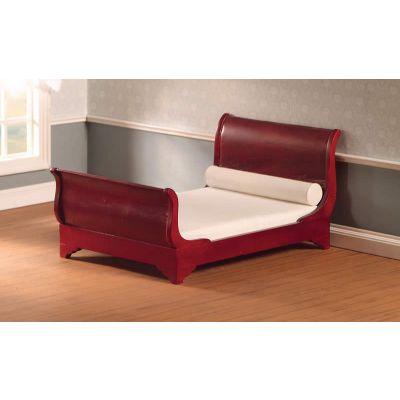 Mahogany Sleigh Bed (M)
