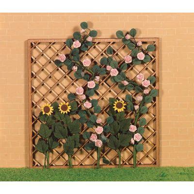 Trellis Panel ( excluding flowers)