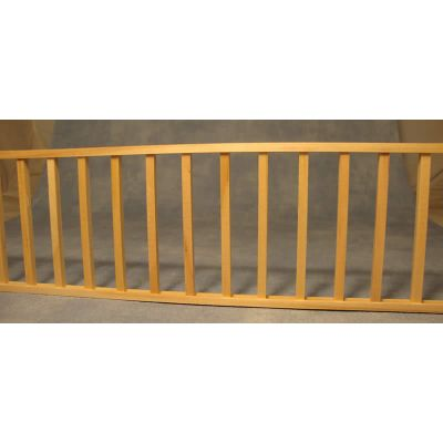 Simple Wooden Railing Assembly