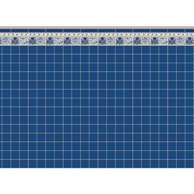 Blue Oreton Tile Paper